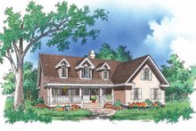 Country Exterior - Front Elevation Plan #929-488