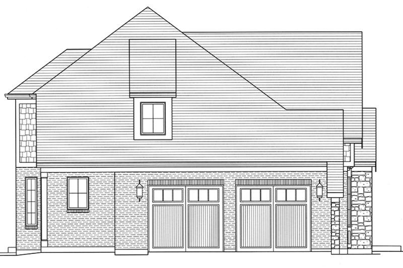 Tudor Exterior - Other Elevation Plan #46-853 - Houseplans.com