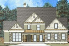 Dream House Plan - Craftsman Exterior - Front Elevation Plan #119-333