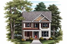 House Plan Design - Country Exterior - Front Elevation Plan #927-728