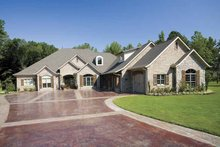 Home Plan - Traditional Exterior - Front Elevation Plan #17-2757
