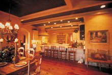 Country Interior - Dining Room Plan #453-153