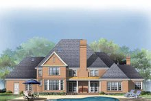 Dream House Plan - Traditional Exterior - Rear Elevation Plan #929-284