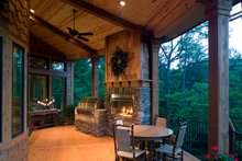 Craftsman Exterior - Covered Porch Plan #54-411