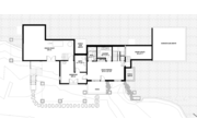 Prairie Style House Plan - 4 Beds 4 Baths 3742 Sq/Ft Plan #1042-17 Floor Plan - Lower Floor Plan