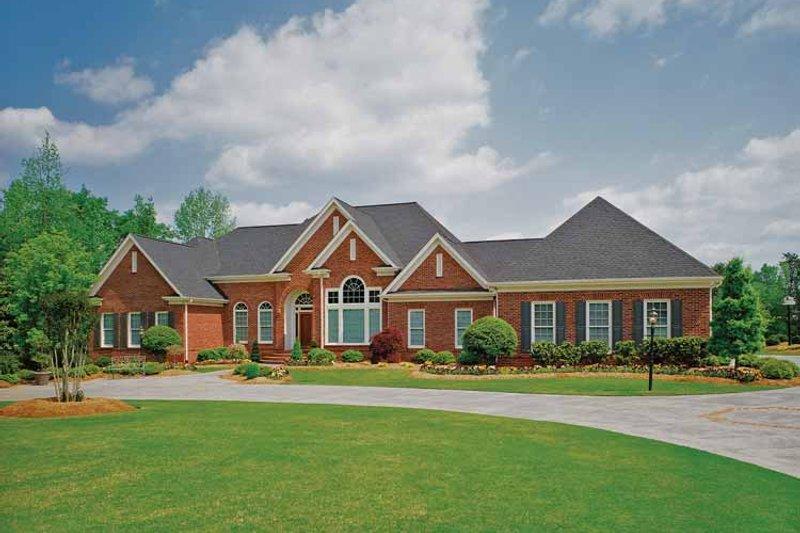 Ranch Exterior - Front Elevation Plan #929-296 - Houseplans.com