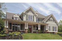 Craftsman Exterior - Front Elevation Plan #54-295