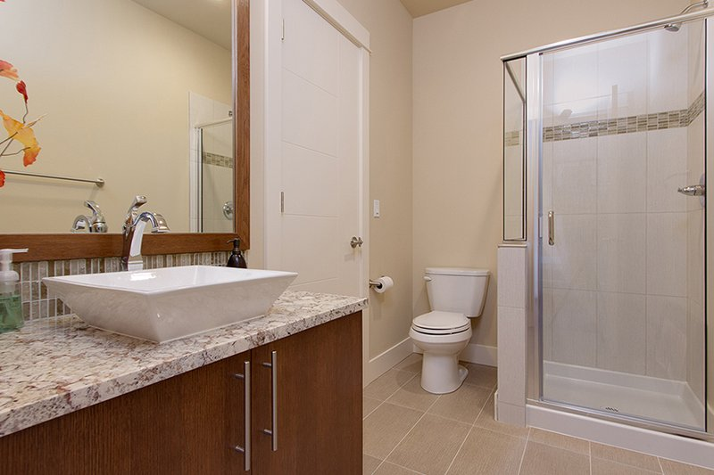 Contemporary Interior - Bathroom Plan #132-564 - Houseplans.com