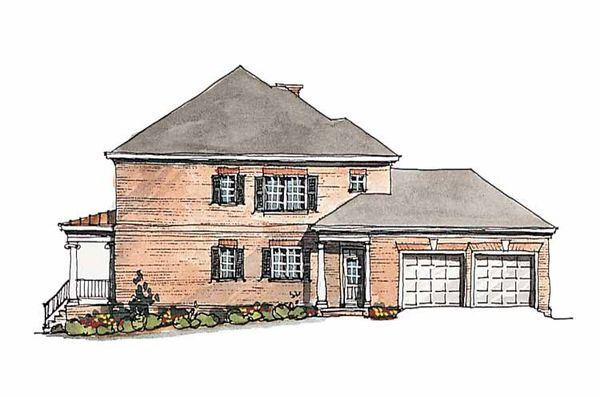 Dream House Plan - Classical Floor Plan - Other Floor Plan #429-185