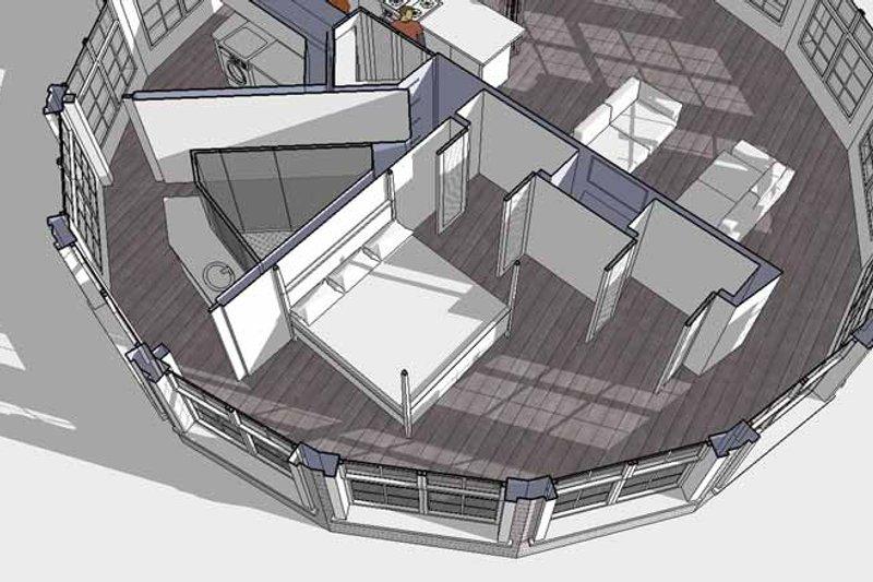 Contemporary Interior - Bedroom Plan #64-294 - Houseplans.com