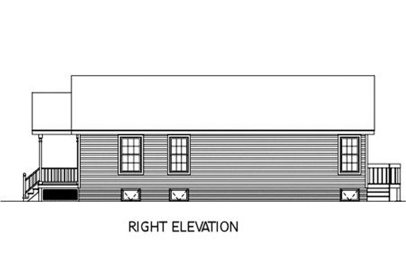 Cottage Exterior - Other Elevation Plan #57-120 - Houseplans.com