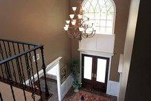 Dream House Plan - Classical Interior - Entry Plan #37-259