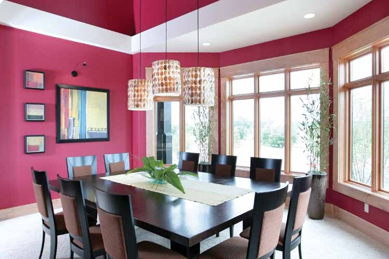 Prairie Interior - Dining Room Plan #928-62 - Houseplans.com