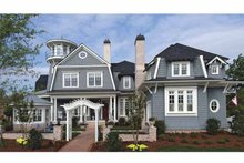 Home Plan - Country Exterior - Front Elevation Plan #54-302