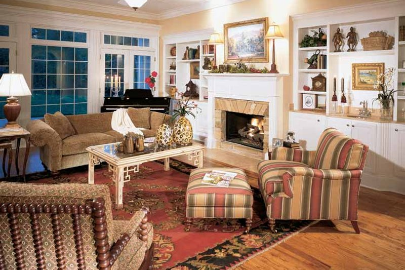 Classical Interior - Family Room Plan #429-85 - Houseplans.com