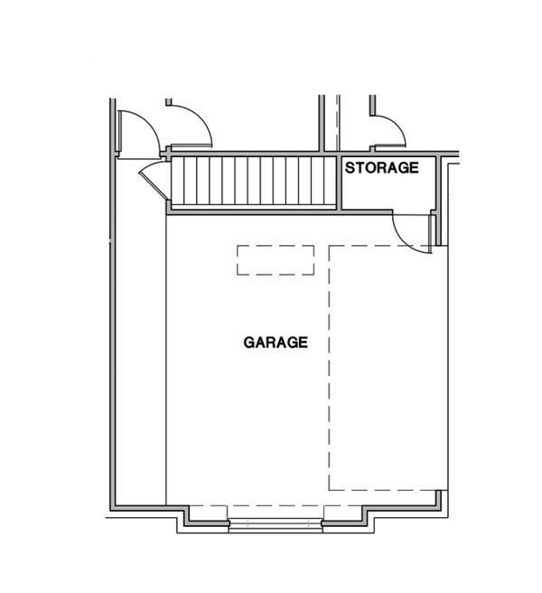 Ranch Floor Plan - Other Floor Plan Plan #472-161
