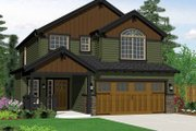 Craftsman Style House Plan - 3 Beds 2.5 Baths 1669 Sq/Ft Plan #943-14 Exterior - Front Elevation