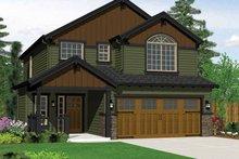 Architectural House Design - Craftsman Exterior - Front Elevation Plan #943-14