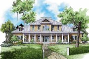 Traditional Style House Plan - 5 Beds 4 Baths 3948 Sq/Ft Plan #930-339 Exterior - Front Elevation