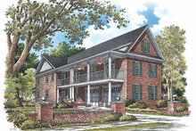 House Plan Design - Traditional Exterior - Front Elevation Plan #929-748