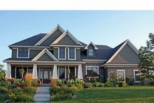 Country Exterior - Front Elevation Plan #51-1119