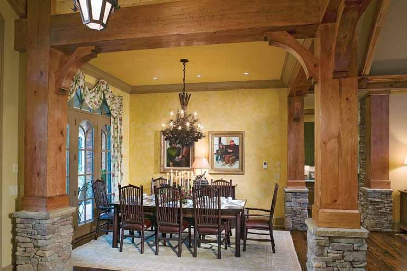 Craftsman Interior - Dining Room Plan #54-245 - Houseplans.com