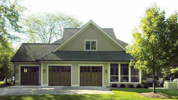Traditional Floor Plan - Other Floor Plan Plan #928-107