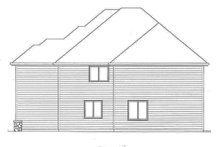 Traditional Exterior - Other Elevation Plan #509-293