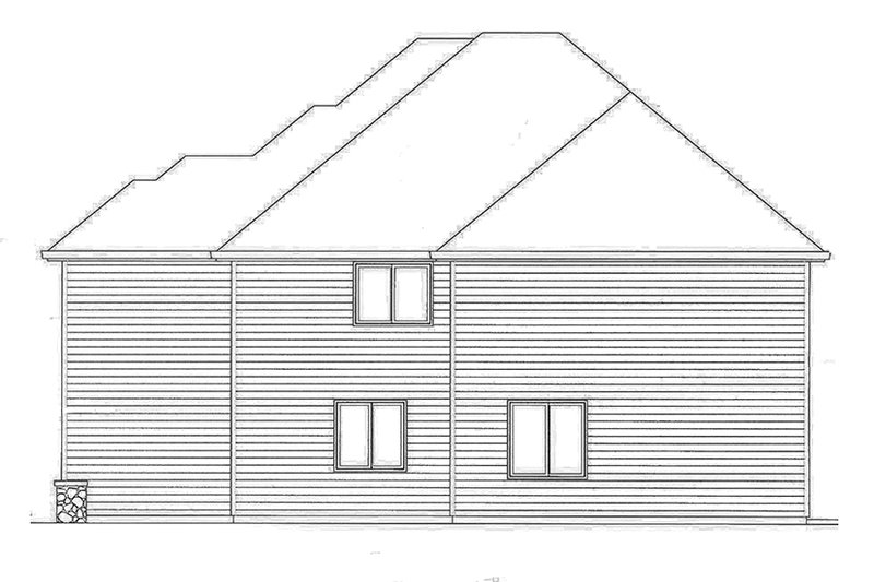Traditional Exterior - Other Elevation Plan #509-293 - Houseplans.com