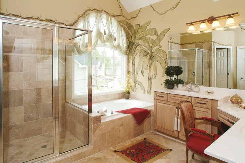 Country Interior - Bathroom Plan #927-157 - Houseplans.com