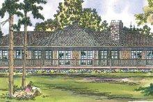 Home Plan - Craftsman Exterior - Rear Elevation Plan #124-408