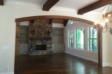 Country Interior - Family Room Plan #437-80