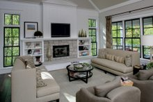 Country Interior - Family Room Plan #901-1