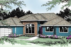 Traditional Exterior - Front Elevation Plan #89-101