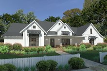 Home Plan - Farmhouse Exterior - Front Elevation Plan #120-253