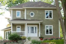 Dream House Plan - Traditional Exterior - Front Elevation Plan #23-340