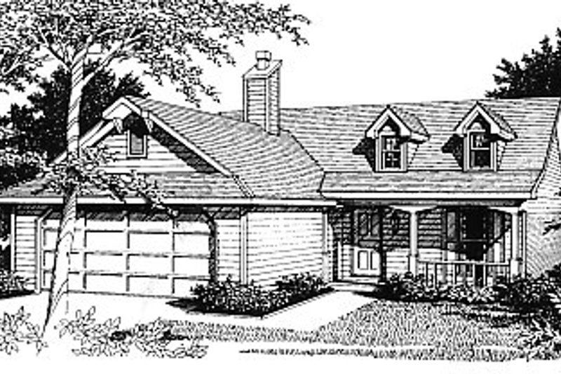 Traditional Exterior - Front Elevation Plan #14-138