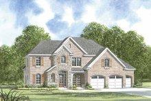 House Plan Design - European Exterior - Front Elevation Plan #952-202