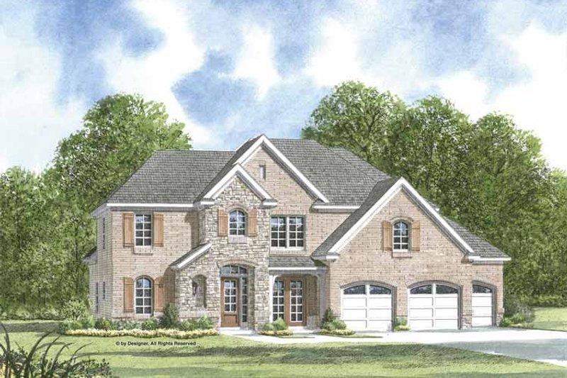 Dream House Plan - European Exterior - Front Elevation Plan #952-202