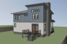 Modern Exterior - Other Elevation Plan #79-296