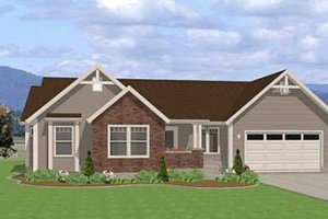 Traditional Exterior - Front Elevation Plan #401-101