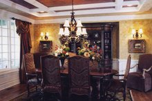 Country Interior - Dining Room Plan #46-747