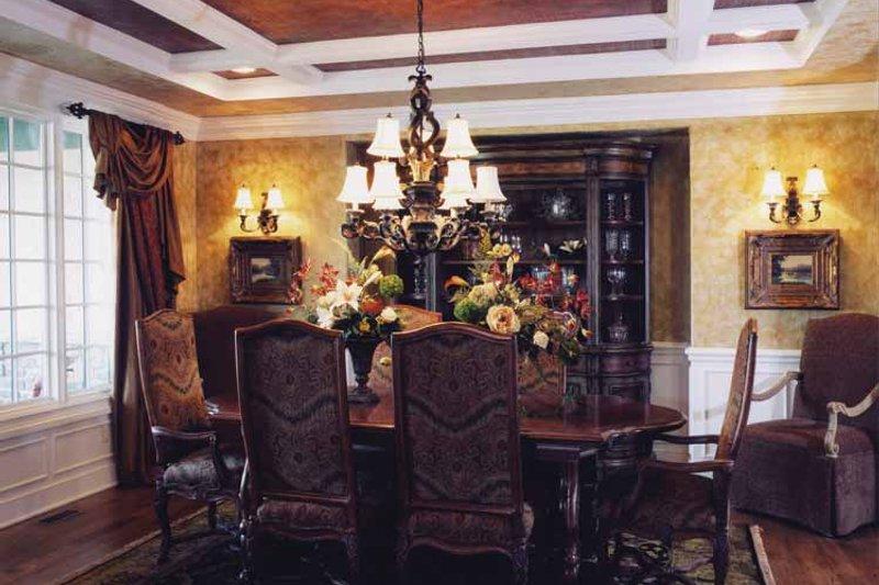 Country Interior - Dining Room Plan #46-747 - Houseplans.com