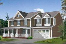 Craftsman Exterior - Front Elevation Plan #132-370