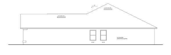 Ranch Floor Plan - Other Floor Plan Plan #1058-28