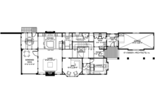 Craftsman Floor Plan - Main Floor Plan Plan #928-282