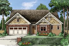 Traditional Exterior - Front Elevation Plan #927-960