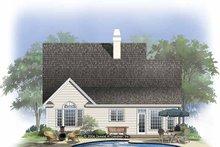 Dream House Plan - Craftsman Exterior - Rear Elevation Plan #929-821