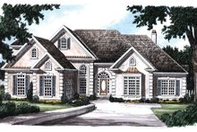 Home Plan - Mediterranean Exterior - Front Elevation Plan #927-146