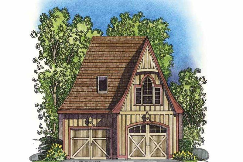 Exterior - Front Elevation Plan #1016-77 - Houseplans.com